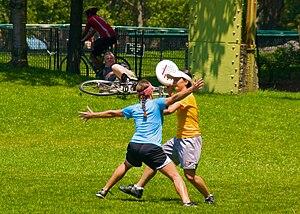 Ultimate Frisbee, Jul 2009 - 17