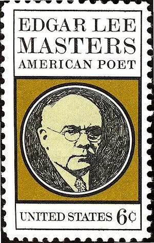 Edgar Lee Masters on a 1970 stamp