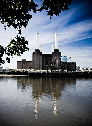 English: The Battersea Power Station is the la...