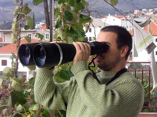 Binoculars 25x100