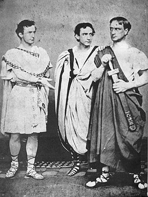 John Wilkes Booth, Edwin Booth and Junius Boot...