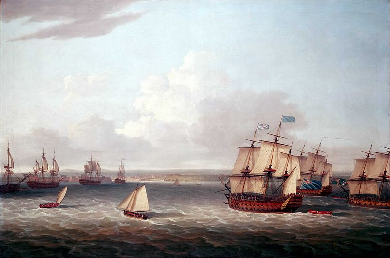 File:British fleet entering Havana.jpg