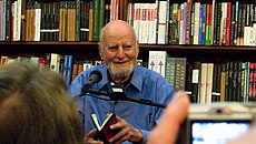 Lawrence Ferlinghetti at City Lights in 2007