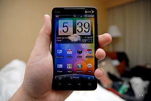 HTC Evo image, via Wikipedia