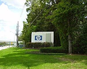 Hewlett-Packard United States offices in Harri...