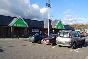 English: Homebase DIY store, Tunbridge Wells