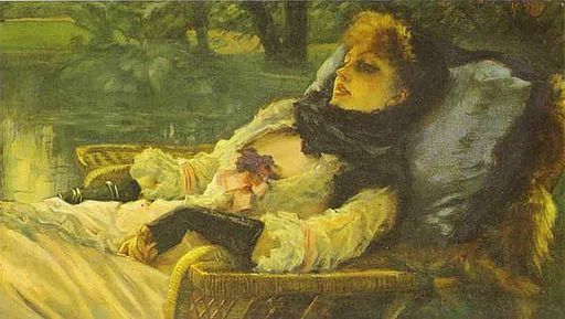 James Tissot - The Dreamer