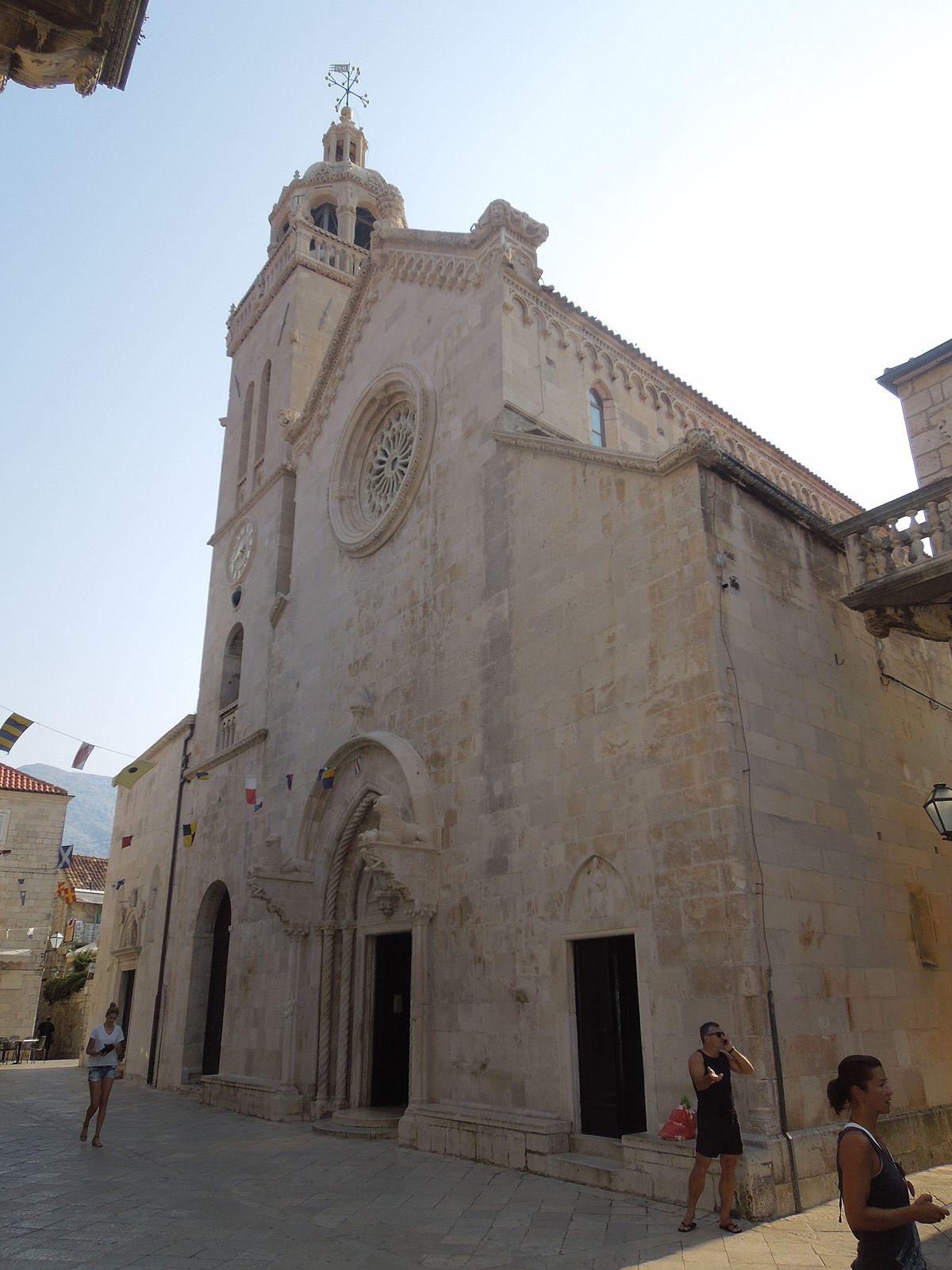 Korčula Cathedral Wikipedia