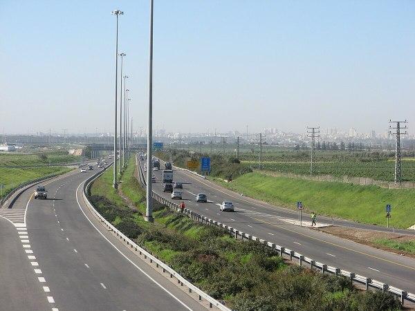 Autostrada 6 Izrael Wikipedia wolna encyklopedia