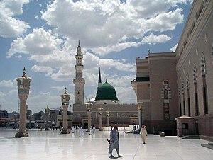 Masjid-el-Nabawi, it is the Masjid of Muhammed...