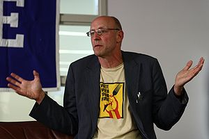 American science journalist and author Michael...