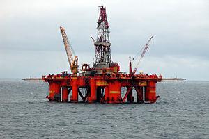 «Deep Sea Delta», boreplattform, her i Nordsjøen