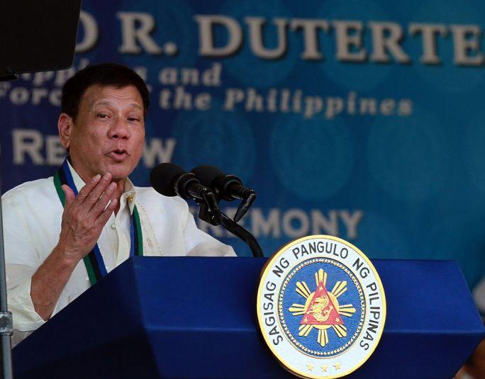 President Rodrigo Duterte speech 070116