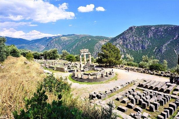 Temple of Athena Pronaia - Delphi by Joy of Museums