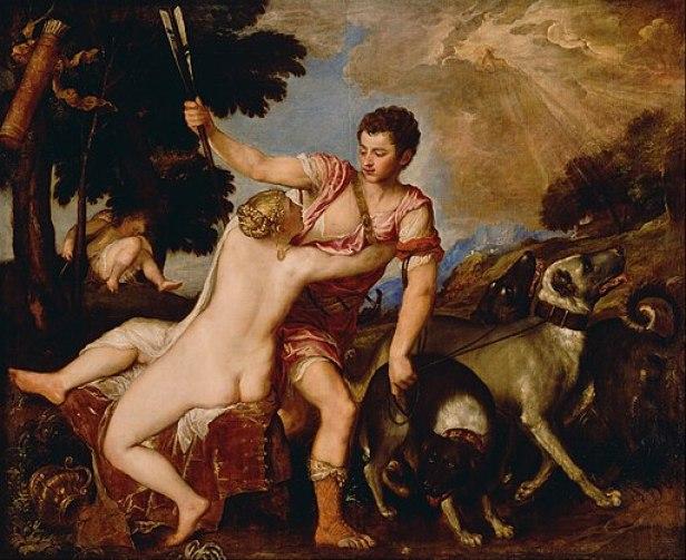 Titian Venus and Adonis