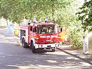 Autopompa Iveco Baribbi 190-26 dei Vigili del fuoco