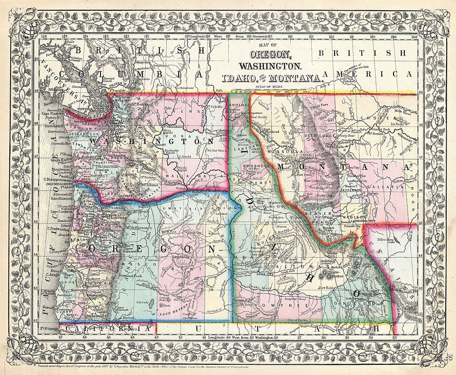 Original 4 Counties Wyoming