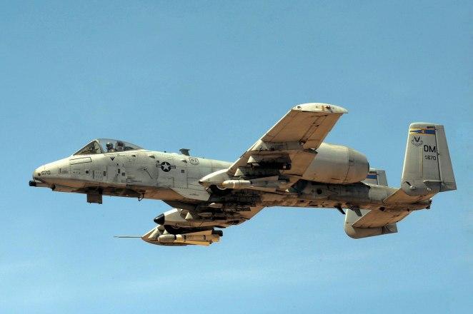 354th Fighter Squadron Fairchild Republic A-10A Thunderbolt II 78-0670.jpg
