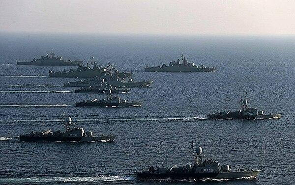 صور توثق إجراءات للبحرية الروسية بطرطوس فرار أم إعادة تموضع