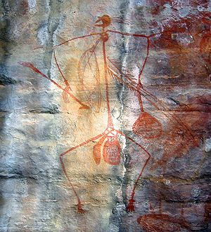 English: Aboriginal Rock Art, Ubirr Art Site, ...