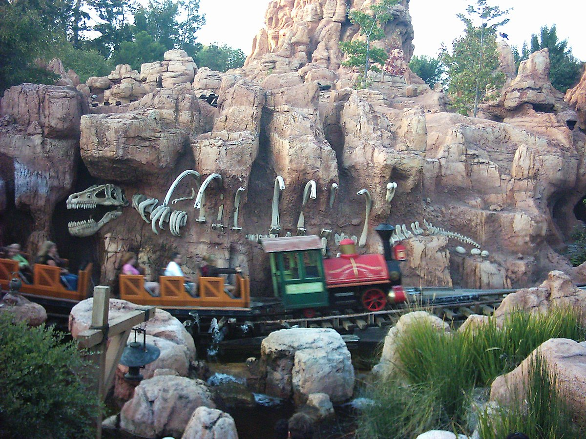 There are four different versions of big thunder: Big Thunder Mountain Wikimedia Commons