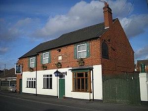 English: Boing boing! it's the Hawne Tavern Ye...