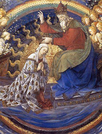 Fra Filippo Lippi - Coronation of the Virgin (...