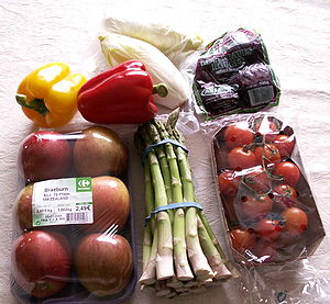 English: A picture of a collection of healthy ...