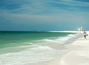 Alabama Gulf State Park Beach, Gulf of Mexico