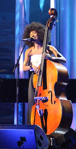 Esperanza Spalding at The Nobel Peace Prize Co...