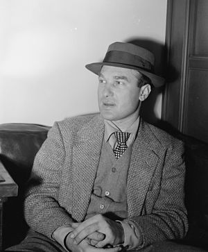English: Norman Granz, ca. May 1947. Photograp...
