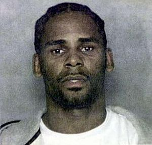 English: Mug shot of R. Kelly.