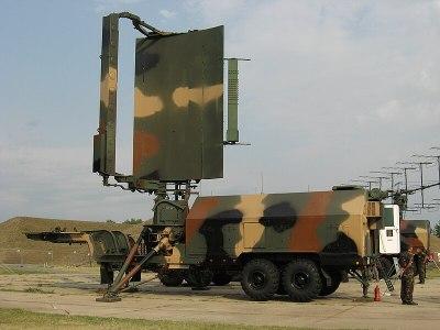 A 36D6 Tin Shield Air Defense Radar