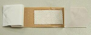 English: sticking plaster Français : Pansement...