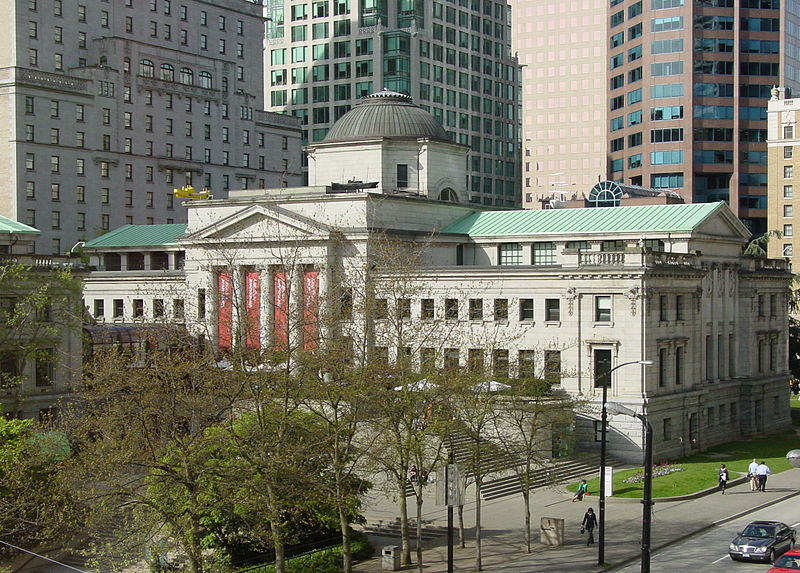 Ficheiro:Vancouver Art Gallery Robson Square from third floor.jpg