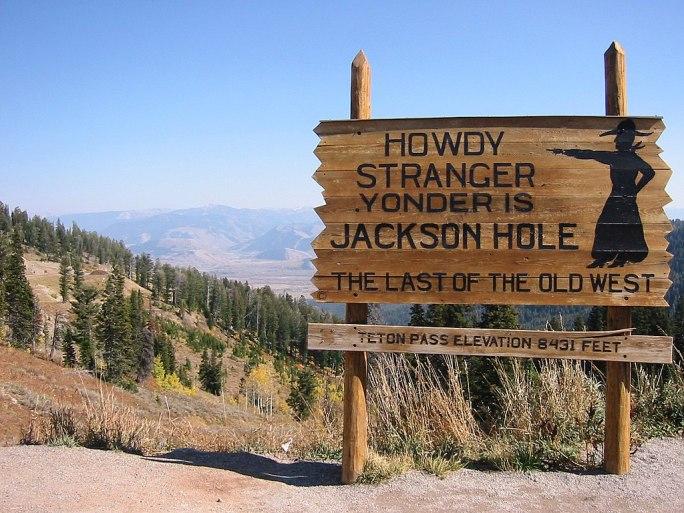 Yonder Lies Jackson Hole