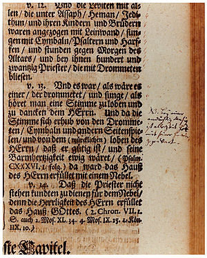 Johann Sebastian Bach – St Woolos Sinfonia