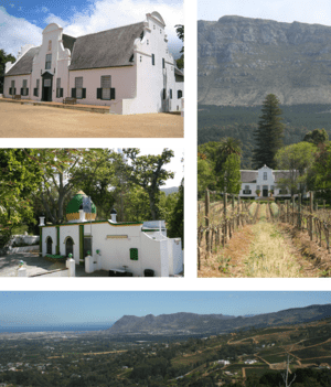 English: A compilation of images of Constantia...