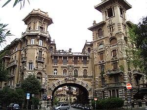 English: Quartiere Coppedè in Rome