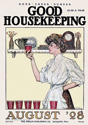 Good Housekeeping periodical...