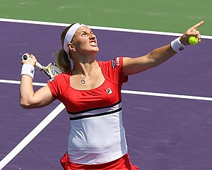 Svetlana Kuznetsova at 2009 Sony Ericsson Open...