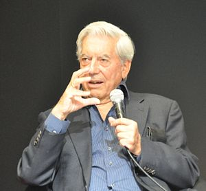 Mario Vargas Llosa at the Göteborg Book Fair 2011