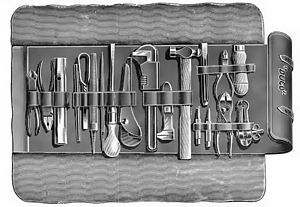 Fig. 185 Motorists tool kit roll of 1912 Scans...