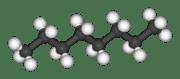 Molekylbild oktan