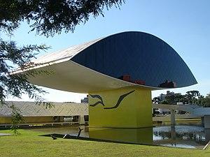 Oscar Niemeyer Museum (NovoMuseu), Curitiba, B...