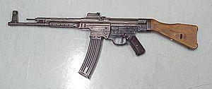 Light automatic Rifle Sturmgewehr 44 found in ...
