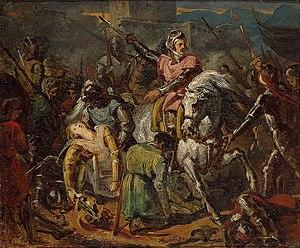 The Death of Gaston de Foix in the Battle of Ravenna.jpg