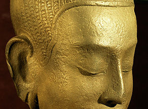 Dynamic tranquility: the Buddha in contemplation.