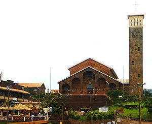 Kumbo cathedral and its suroundings