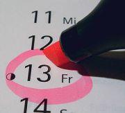 Deutsch: Freitag der 13. im Kalender English: ...